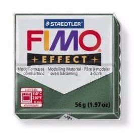 Полимерная глина FIMO EFFECT металлик зелёный опал 8020-58 57гр Россия.