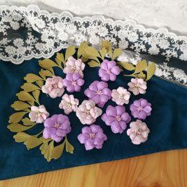 Цветы из фоамирана Ветреница в Stranamasterov.by Беларусь.