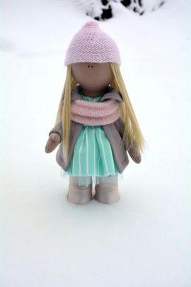 Кукла Handmade Dolls Малышка в Stranamasterov.by Беларусь.