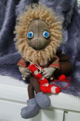 Интерьерная кукла Домовой Нафаня в Stranamasterov.by Беларусь.