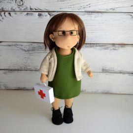 Портретная куколка Кукла по фото в Stranamasterov.by Беларусь.