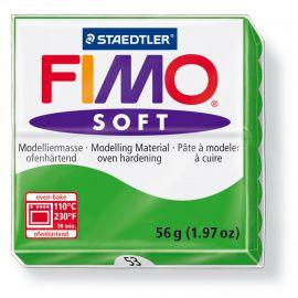 Запекаемая полимерная глина FIMO SOFT Тропический зелёный 8020-53 (57гр) Беларусь.