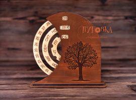 Вечный календарь С деревом в Stranamasterov.by Беларусь.