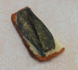 Мыло ручной работы Бутерброд со шпротами в Stranamasterov.by Россия.