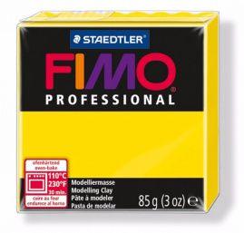 Полимерная глина FIMO PROFESSIONAL Жёлтый 8004-100 85гр Россия.