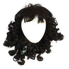 Волосы для кукол локоны черные Россия.