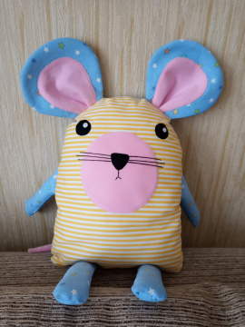 Подушка - игрушка Подушка - мышонок в Stranamasterov.by Беларусь.