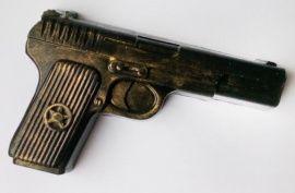 Мыло подарочное Пистолет в Stranamasterov.by Беларусь.