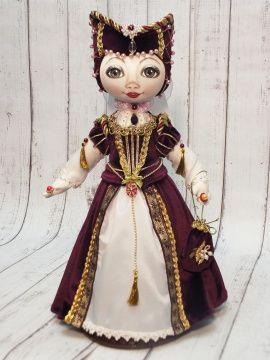 Текстильная кукла Генриетта в Stranamasterov.by Беларусь.