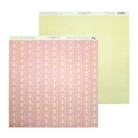 Бумага для скрапбукинга 30*30см 220гр/м Promise One, PRM001 Россия.