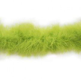 Боа пух 20гр/1.8м, 1шт, ярко салатовый-376C, HT0901 Россия.