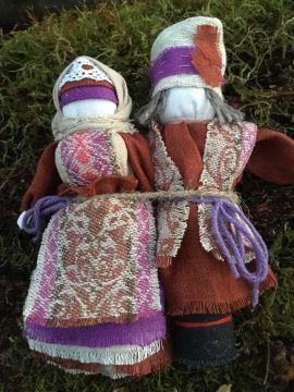 Кукла мотанка Неразлучники - подарок ручной работы на свадьбу Беларусь.