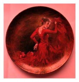 Декоративная тарелка Танго в Stranamasterov.by Беларусь.