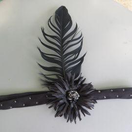 Повязка на голову Чикаго в черном цвете в Stranamasterov.by Беларусь.