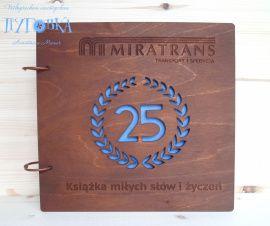 Книга пожеланий Логотип (30 цвет. листов) - подарок ручной работы на свадьбу Беларусь.