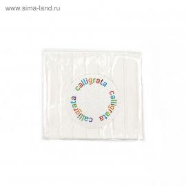 Полимерная глина, белая, 50гр, SH-04, CALLIGRATA Россия.