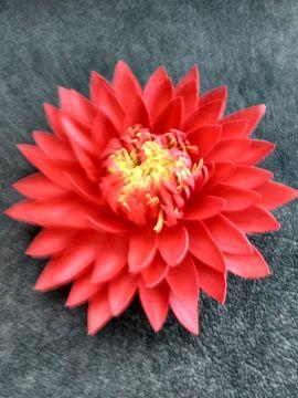 Цветок для декора Красный лотос в Stranamasterov.by Россия.