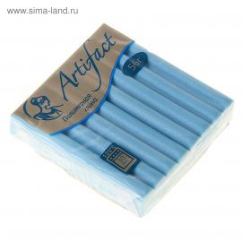 Полимерная глина 56г перламутр Голубой, 7611, ARTIFACT Беларусь.