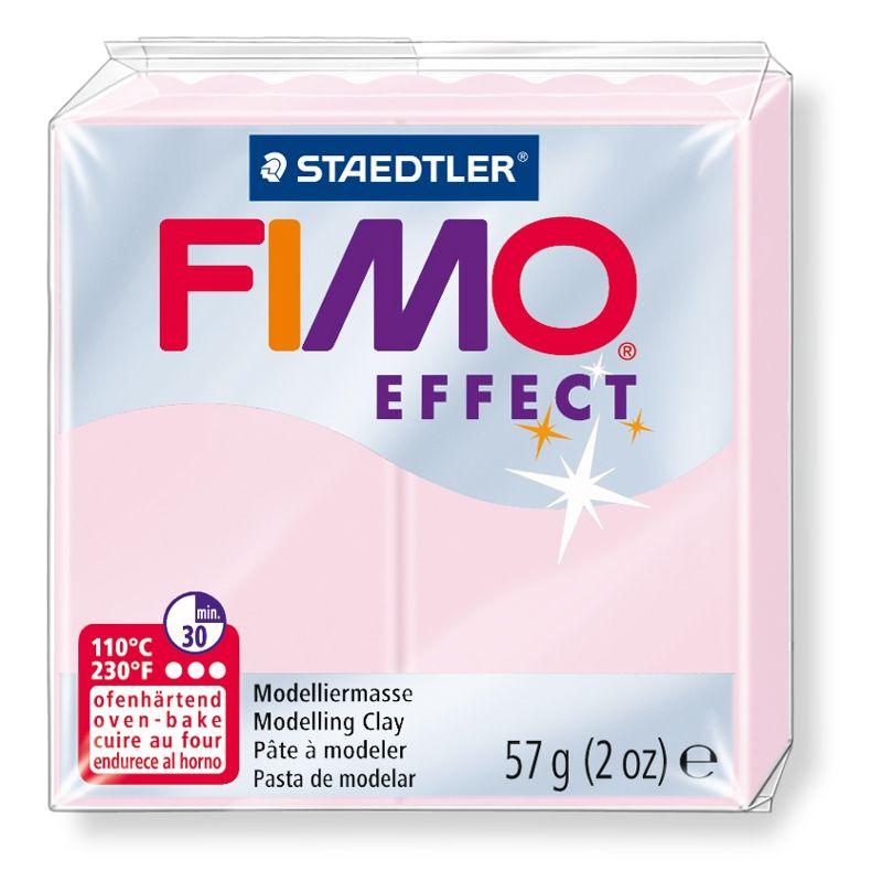 Полимерная глина FIMO EFFECT розовый кварц 8020-206 57гр