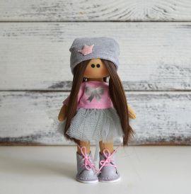 Интерьерная кукла Зефирчик в Stranamasterov.by Беларусь.