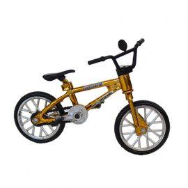 Велосипед кукольный, 10*5см, желтый Россия.