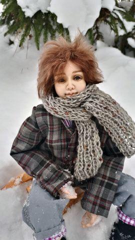 Авторская кукла Серафим в Stranamasterov.by Беларусь.