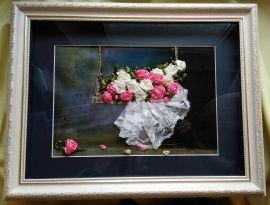 Картина Розы для любимой в Stranamasterov.by Беларусь.