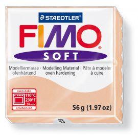Запекаемая полимерная глина FIMO Soft Телесный 8020-43 (57гр) Беларусь.