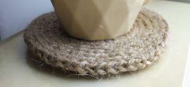 Набор подставок под чашки / стаканы (2 шт) - подарок ручной работы на свадьбу Беларусь.
