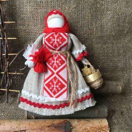 Народная кукла мотанка Берегиня в Stranamasterov.by Беларусь.