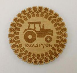 Магнит Трактор Беларусь в Stranamasterov.by Россия.