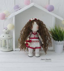 Интерьерная кукла Беларусочка в Stranamasterov.by Беларусь.
