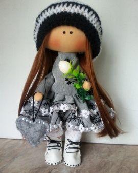 Кукла-малышка Жана в Stranamasterov.by Беларусь.