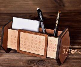 Вечный календарь Настольный с подставкой в Stranamasterov.by Беларусь.