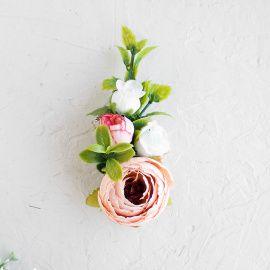 Бутоньерка из цветов Бутоньерка жениха - подарок ручной работы на свадьбу Беларусь.
