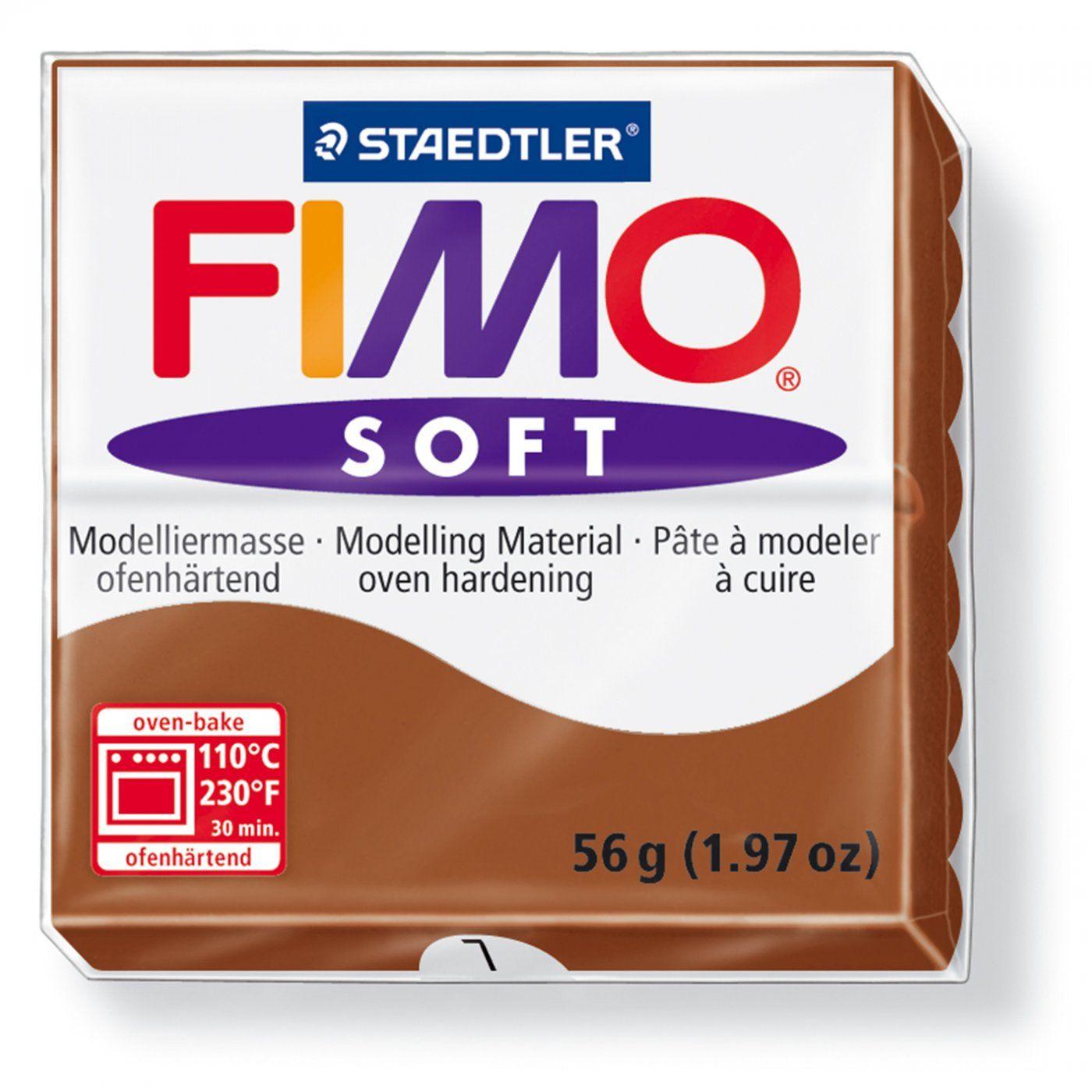 Запекаемая полимерная глина FIMO Soft Карамель 8020-7 (57гр)