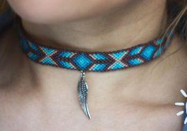 Чокер Blue bird в Stranamasterov.by Беларусь.