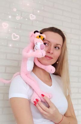 Плюшевая игрушка Розовая пантера в Stranamasterov.by Беларусь.