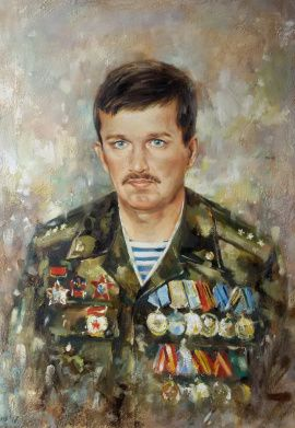 Картина Портрет на заказ в Stranamasterov.by Беларусь.