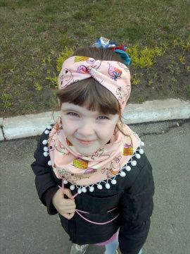 Повязка на голову Свинка пеппа в Stranamasterov.by Беларусь.