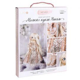 """Интерьерная кукла """"Николь"""", набор для шитья, 18 * 22.5 * 3см, 3548679 Россия."""