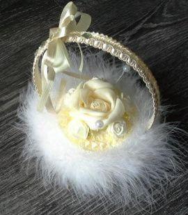 Гнёздышко для колец Сказка - подарок ручной работы на свадьбу Беларусь.