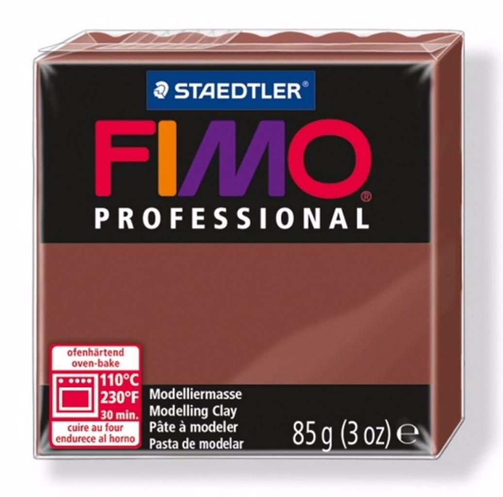 Полимерная глина FIMO PROFESSIONAL Шоколад 8004-77 85гр
