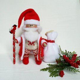 Авторская кукла Дед Мороз в Stranamasterov.by Беларусь.
