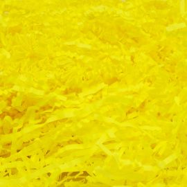 Наполнитель флористический бумажный, лимонный, 100гр, 64488 Россия.