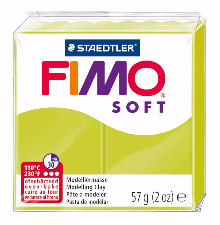 Полимерная глина FIMO SOFT Зелёный лайм 8020-52 57гр