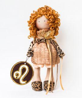 Авторская кукла Zodiac Leo в Stranamasterov.by Беларусь.