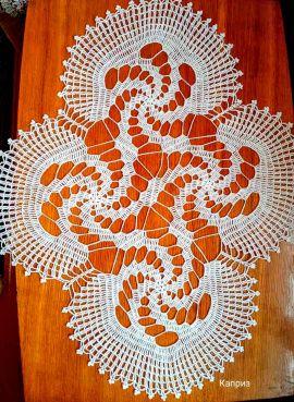 Салфетка Каприз - подарок ручной работы на свадьбу Беларусь.