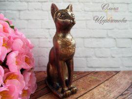 Мыло ручной работы Египетская кошка Баст в Stranamasterov.by Беларусь.
