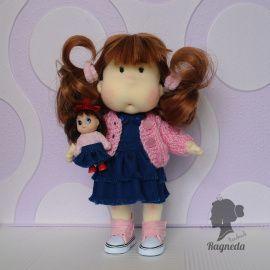Кукла Мила с куколкой в Stranamasterov.by Беларусь.
